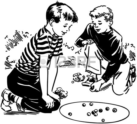 450x407 Boys Playing Marbles Royalty Free Cliparts, Vectors, And Stock