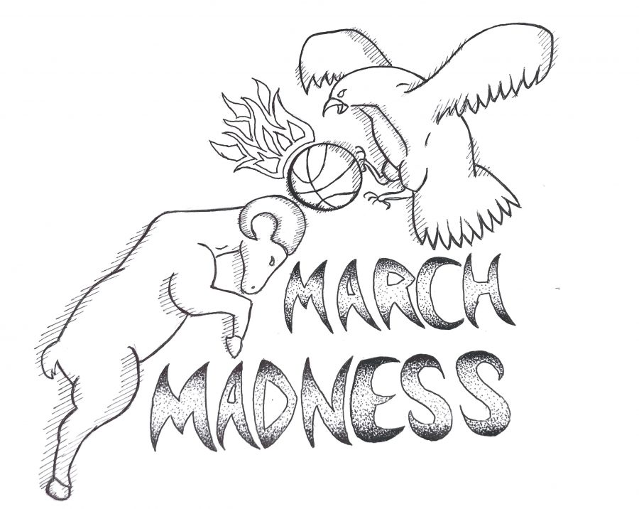 900x716 March Madness The Fiery Legacy Of Collegiate Basketball Golden