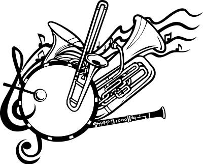 marching band drawing at getdrawings com free for personal use rh getdrawings com marching band clip art silhouette marching band clip art silhouette