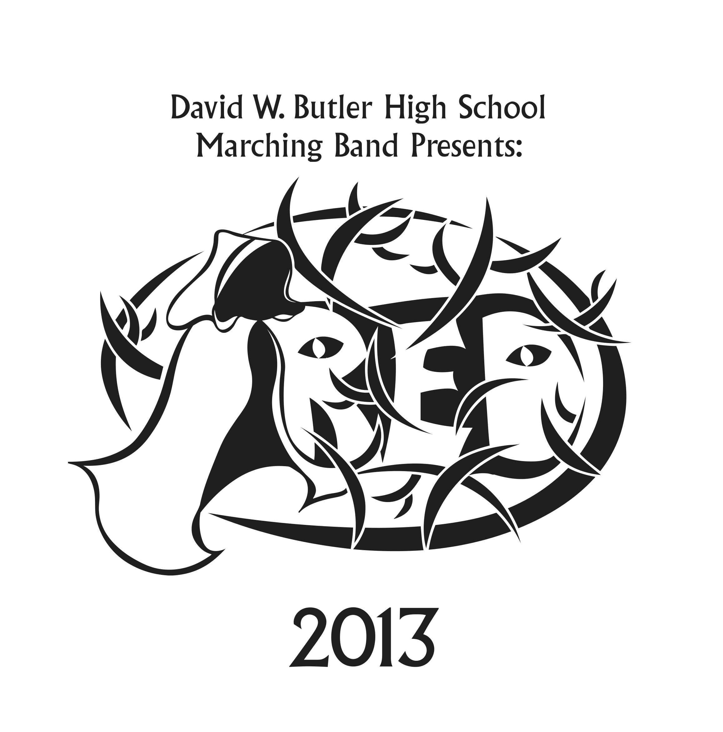 2314x2343 Marching Band David W. Butler High School Band