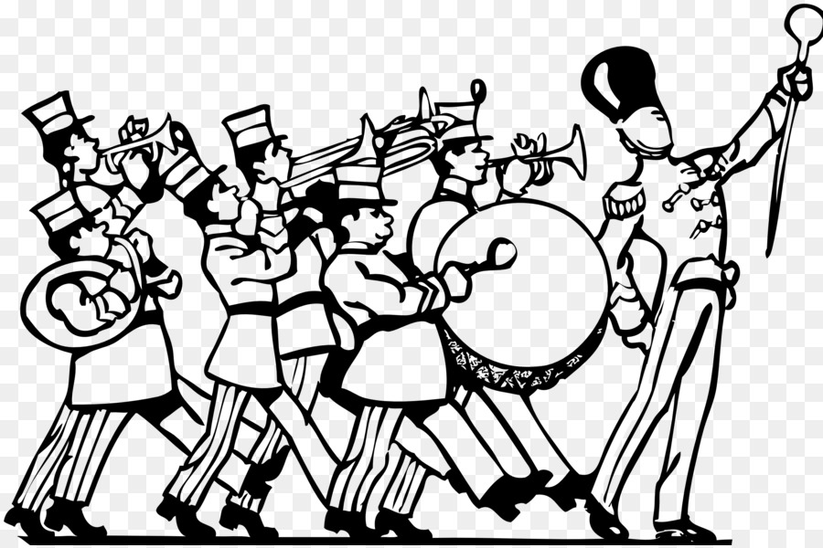 900x600 Marching Band Musical Ensemble Band Camp Clip Art