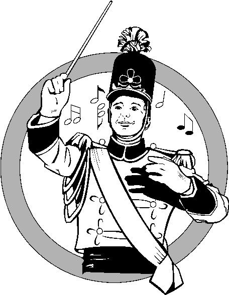 456x588 Clip Art Marching Band