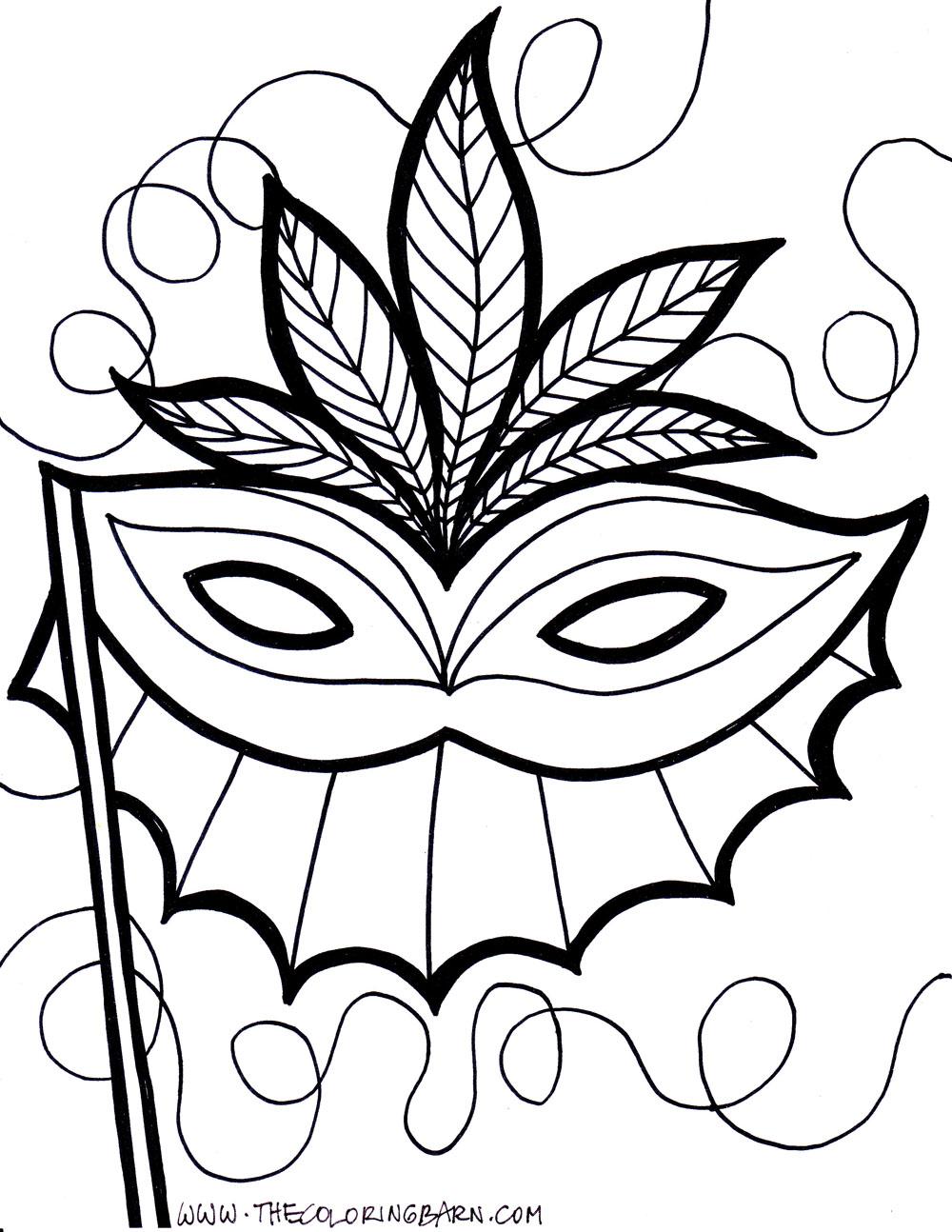 Mardi Gras Drawing at GetDrawings.com | Free for personal use Mardi ...
