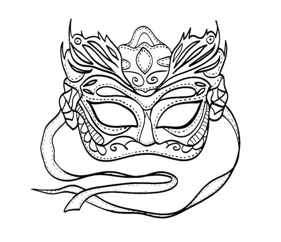 564x485 Mardi Gras Masks Coloring Pages Coloring Voodoo Doll By