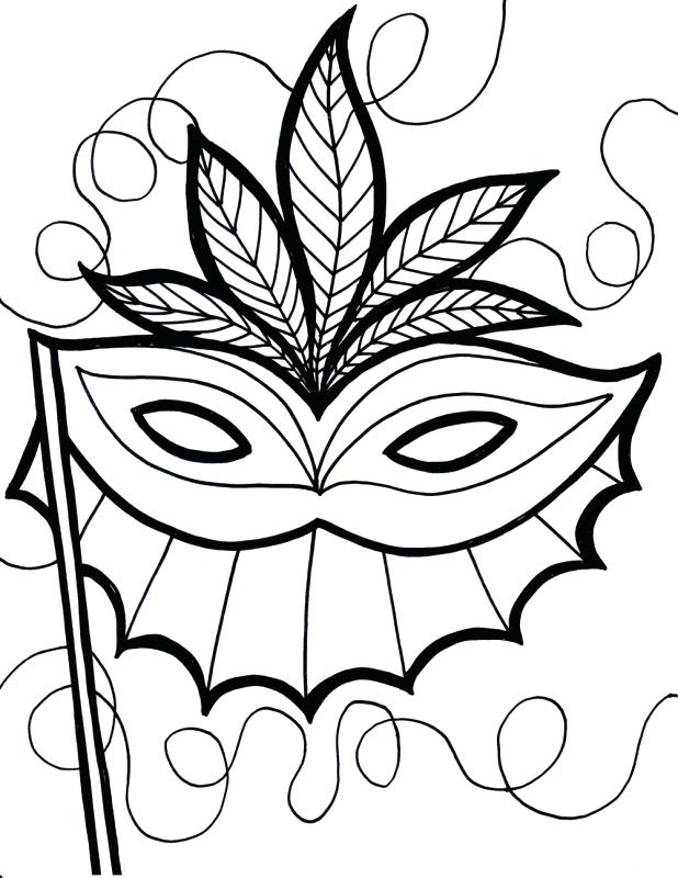 618x800 Mardi Gras Masks Coloring Pages Free Coloring Pages Mardi Gras