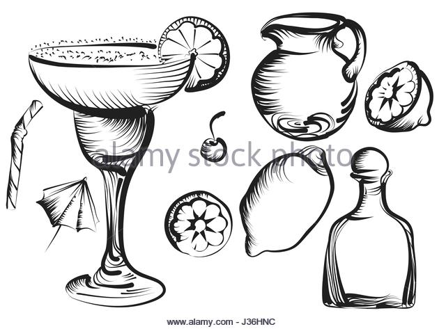 640x473 Margarita Black And White Stock Photos Amp Images