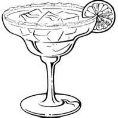 free margarita coloring pages - photo#6