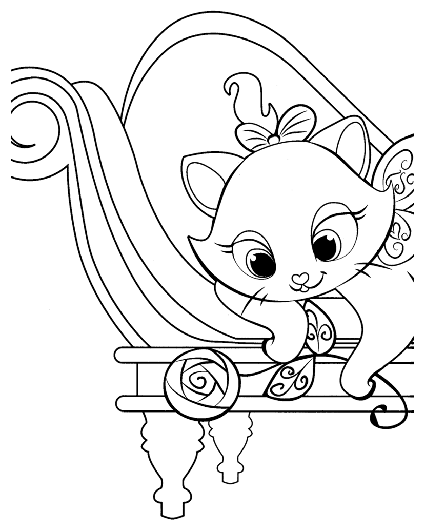 Marie Aristocats Drawing at GetDrawings.com | Free for personal use ...