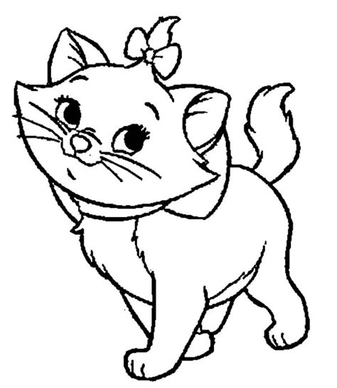 Marie Aristocats Drawing at GetDrawings.com | Free for ...
