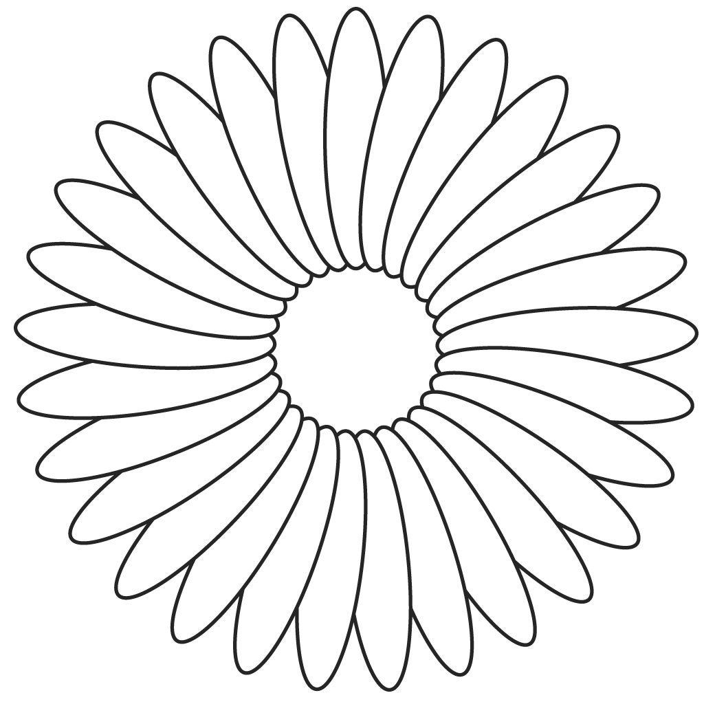 Marigold Flower Drawing at GetDrawings.com | Free for personal use ...