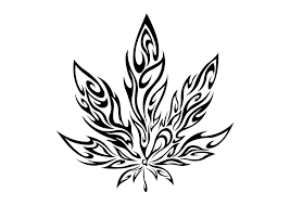 267x189 Image Result For Tattoo Weed Leaf Drawings Mary Janes