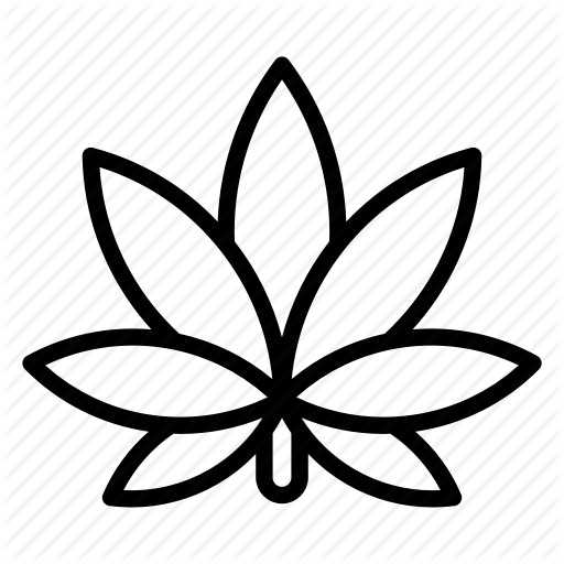Marijuana Leaf Drawing At Getdrawings Free For Personal Use