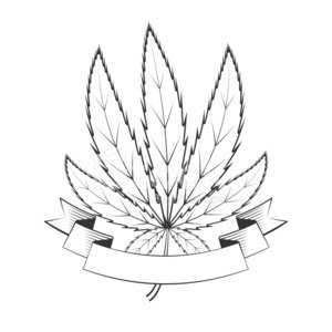 300x300 Cannabis Green Leaf Stock Vectors