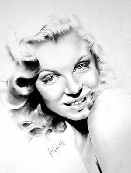 431x569 Marilyn Monroe (Maria Tornbak)
