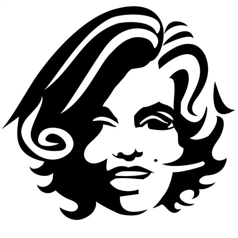 800x800 Buy Marilyn Monroe Car Decal And Get Free Shipping