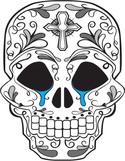 405x519 Sugar Skulls Favourites By Roseboul18