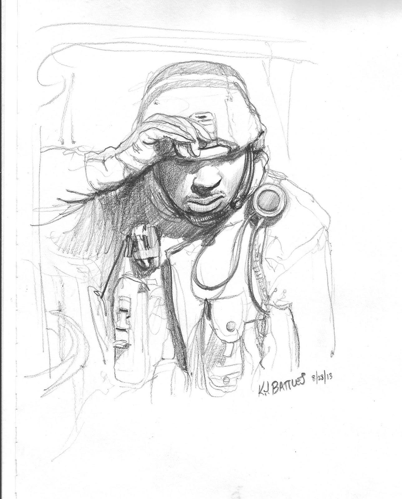 1288x1600 Sketchpad Warrior September 2013