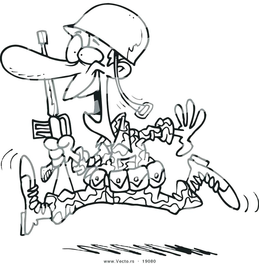 878x895 Marine Corps Coloring Pages Marine Coloring Page Outstanding