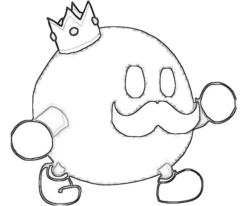 800x667 Bob Omb Coloring Pages King Bob Omb