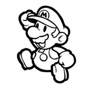 300x300 Super Mario Cool Funny Car Window Vinyl Decal Sticker Choose