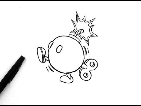 480x360 Comment Dessiner La Bombe