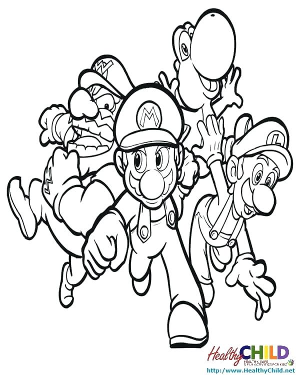 Mario Bros Drawing At Getdrawings Free Download