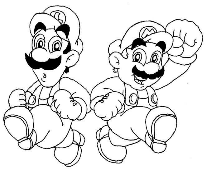 661x547 Da Mario Brothers By Beau Skunk