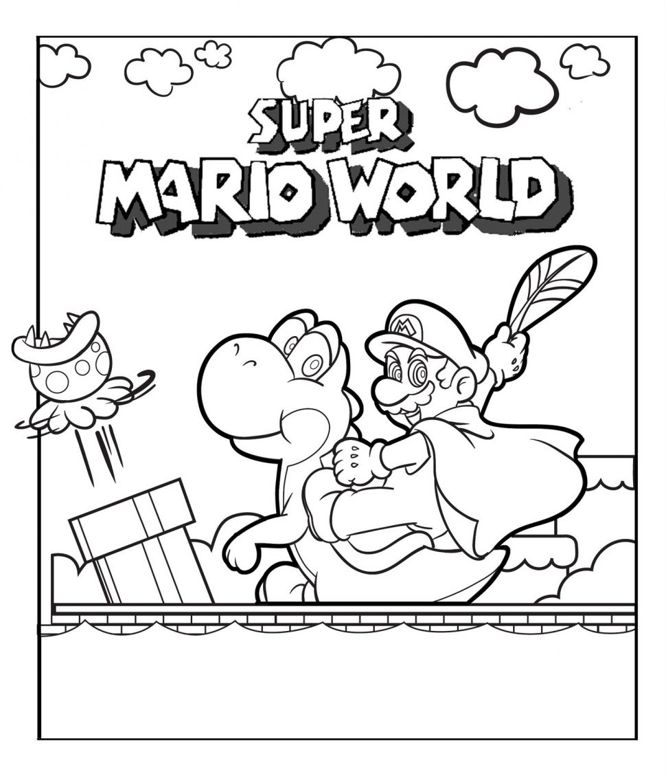Mario Brothers Drawing