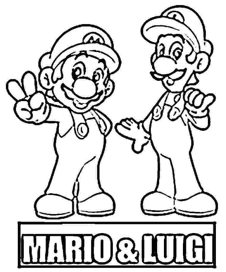Mario Brothers Drawing at GetDrawings.com | Free for personal use ...
