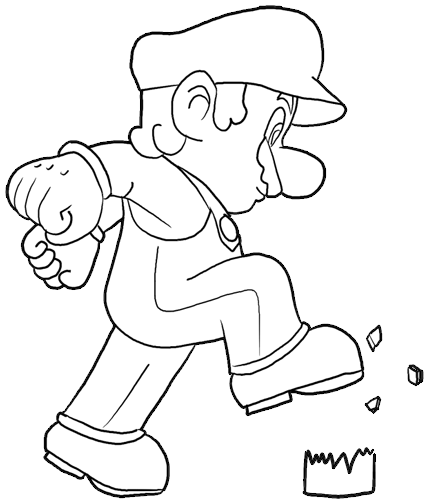 440x503 Draw Mario Archives