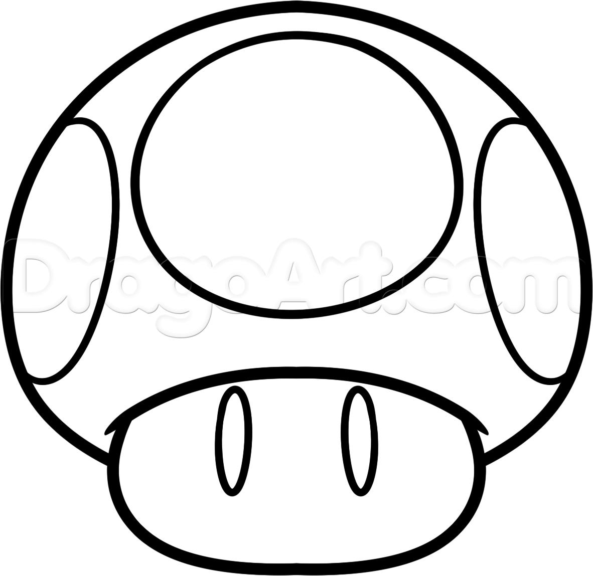 1182x1149 Mario Mushroom Coloringworksheets