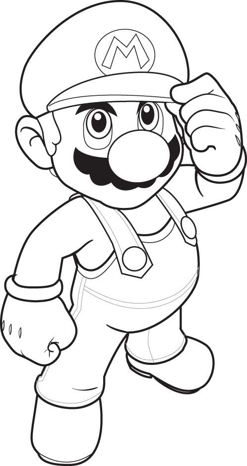 498x939 How To Professionally Draw Mario Tutorial