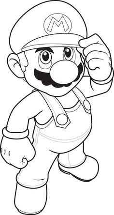 236x444 Super Mario Coloring Pages Super Mario Coloring Pages 023.png