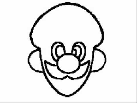 480x360 Mario Song Luigi Drawing