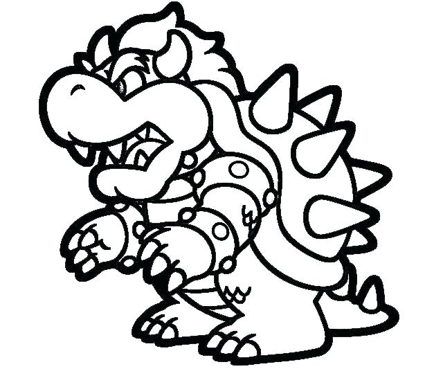 640x533 Mario Characters Coloring Pages Synthesis.site