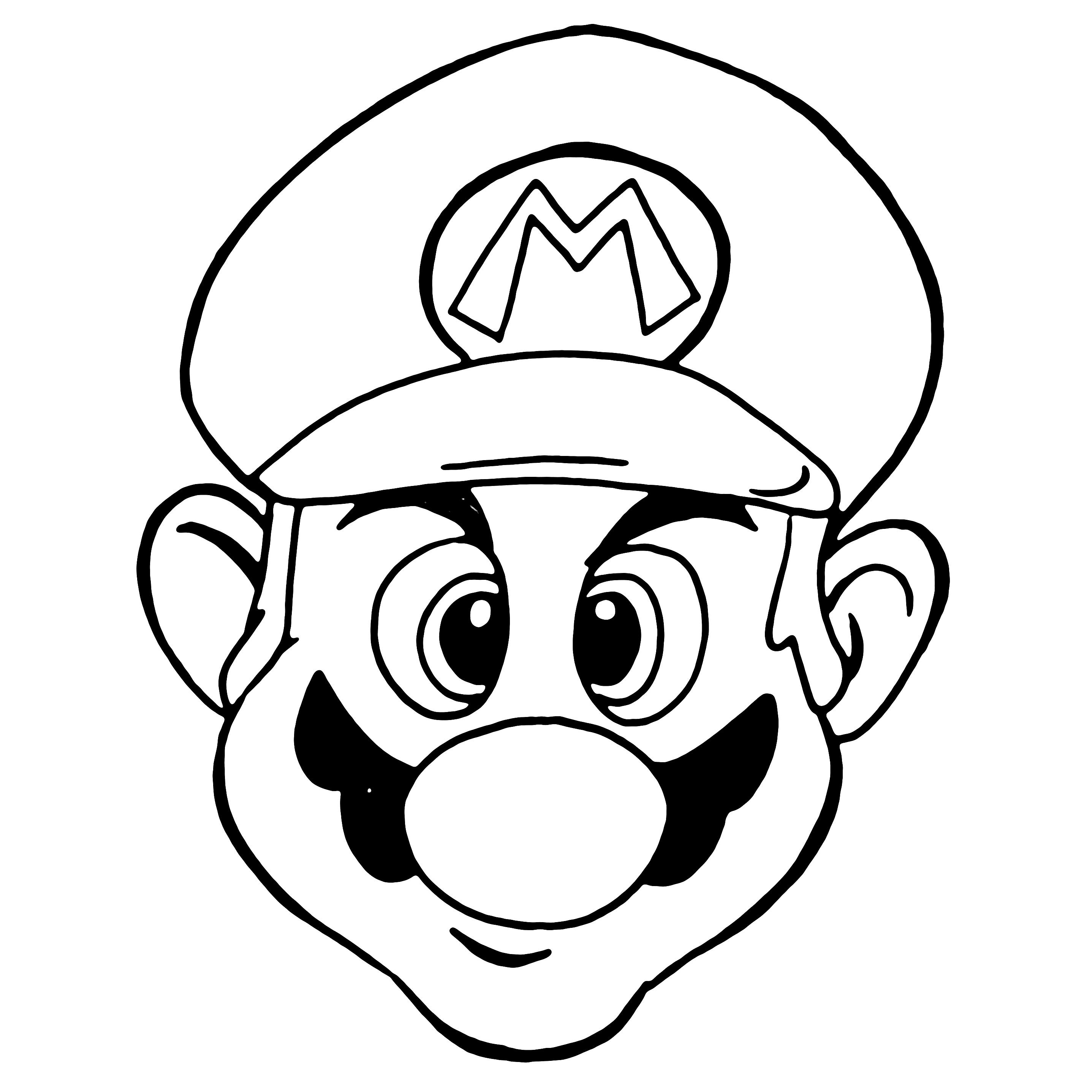 2874x2874 Candy Mario Family Craft Studio