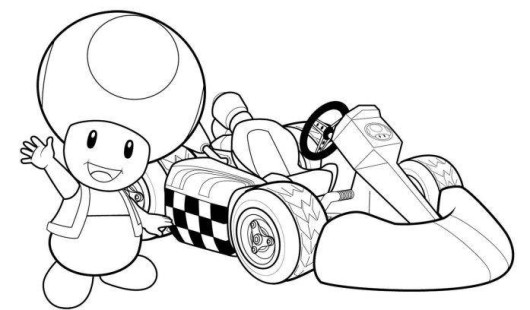 Mario Kart 8 Drawing At Getdrawings Com Free For Personal Use
