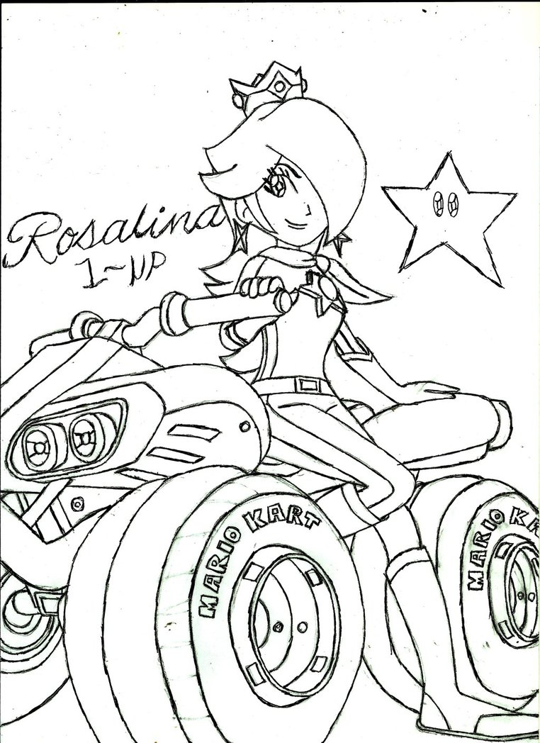 mario kart 8 drawing at getdrawings com