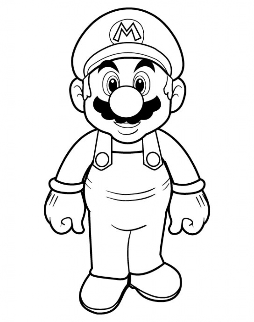 Mario Kart Drawing at GetDrawings.com | Free for personal use Mario ...