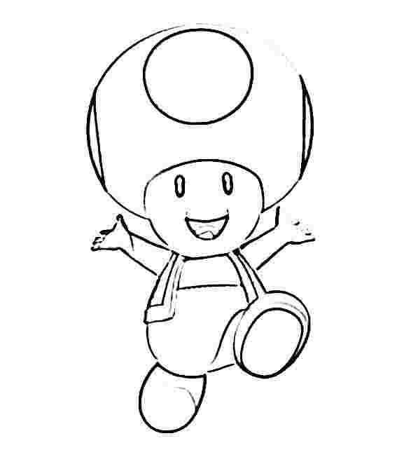 Mario Toad Drawing at GetDrawings.com | Free for personal ...