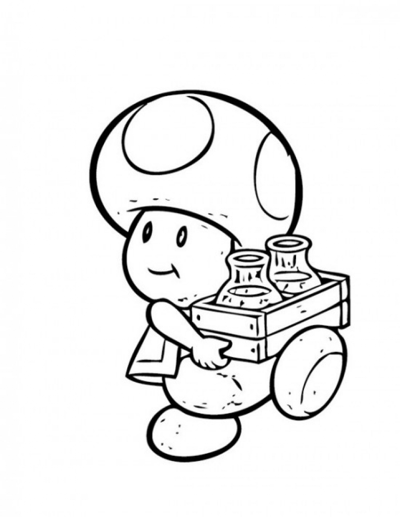 captain toad coloring pages - photo#12