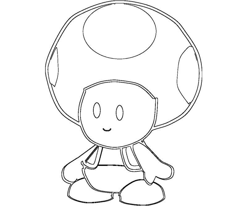 800x667 Toad Mario Characters Coloring Pages Toad 8 Coloring Comicsy
