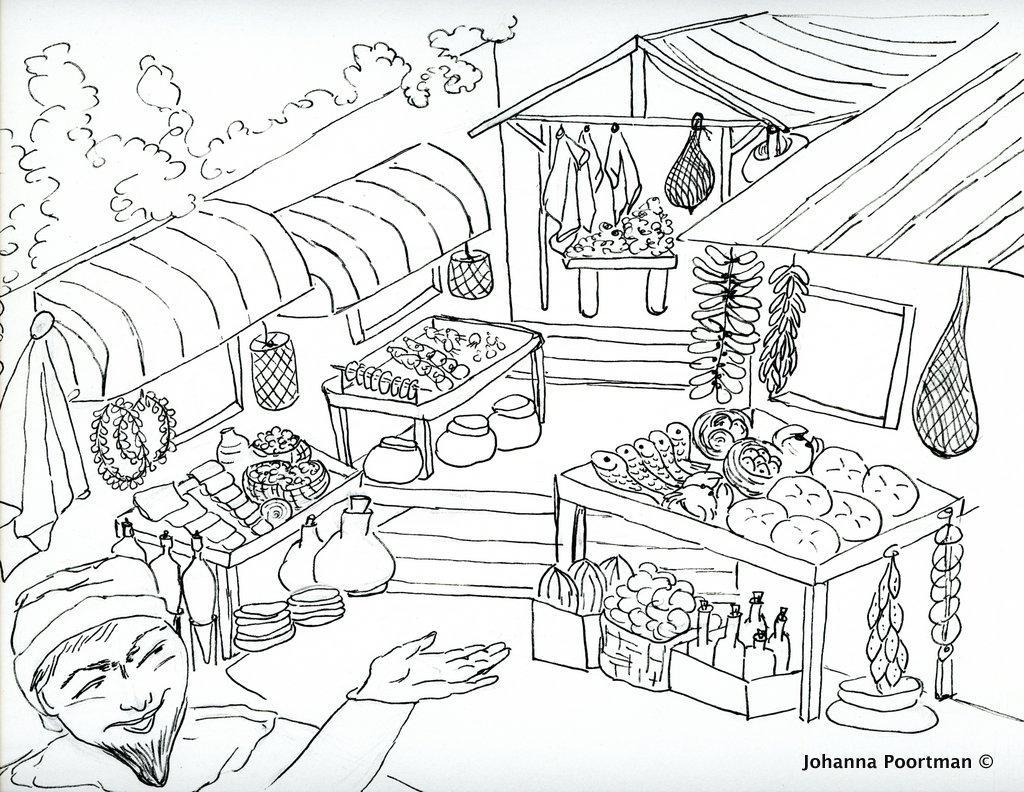 market drawing at getdrawings com
