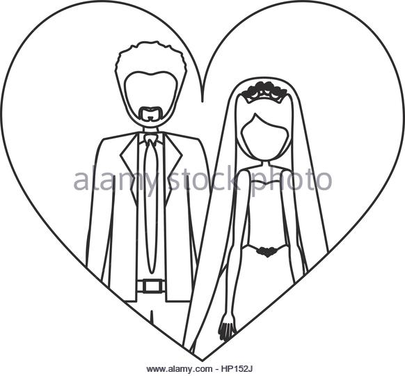 582x540 People Married Couple Icon Image Stock Photos Amp People Married