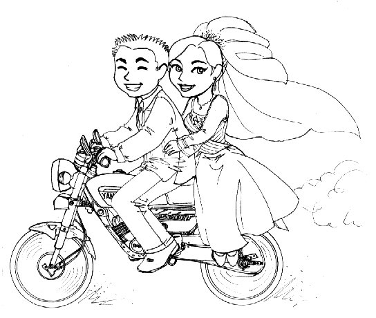 544x460 Just Married By Jactinglim