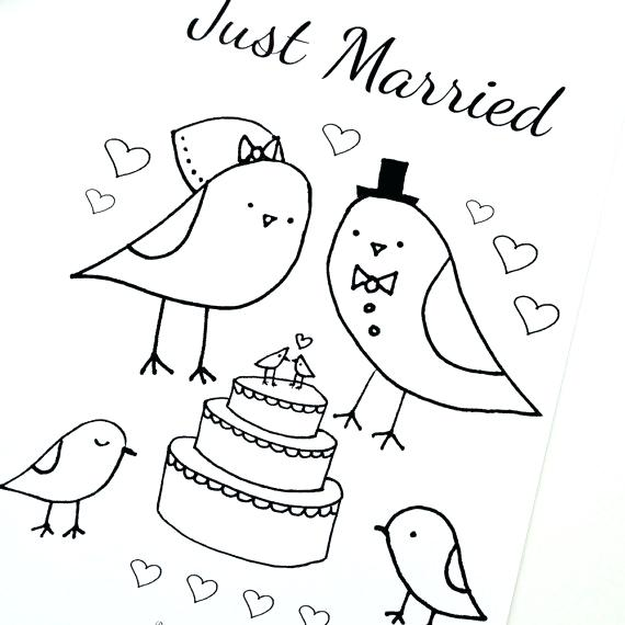 570x570 Wedding Coloring Pages Marry And Weddings Wedding Colouring Pages