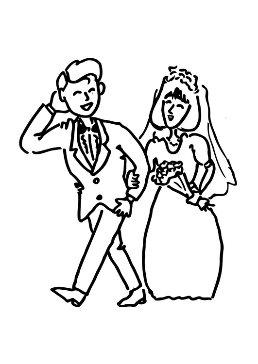 531x750 Coloring Page Get Married