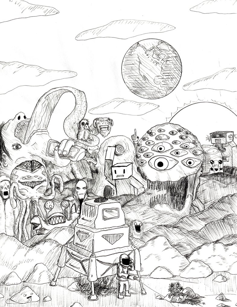 785x1017 Life Mars By William John Holly