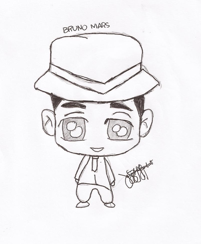 802x969 Bruno Mars Chibi By Zhaaaaiineee