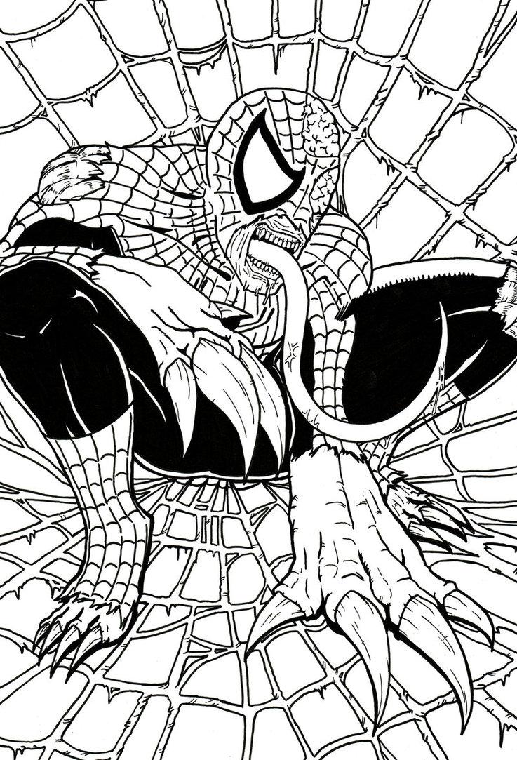 737x1083 Spider Man Licker By James Ed Marsh
